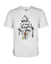 What A Long Strange Trip V-Neck T-Shirt thumbnail