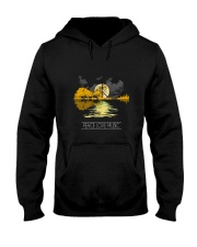 Peace Love Music 1 Hooded Sweatshirt front