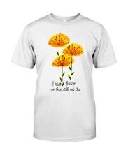 I Paint Flowers Classic T-Shirt front