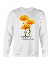 I Paint Flowers Crewneck Sweatshirt thumbnail