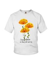 I Paint Flowers Youth T-Shirt thumbnail