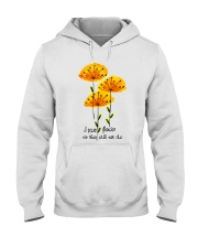 I Paint Flowers Hooded Sweatshirt thumbnail