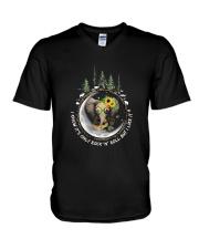 Rock And Roll 1 V-Neck T-Shirt thumbnail