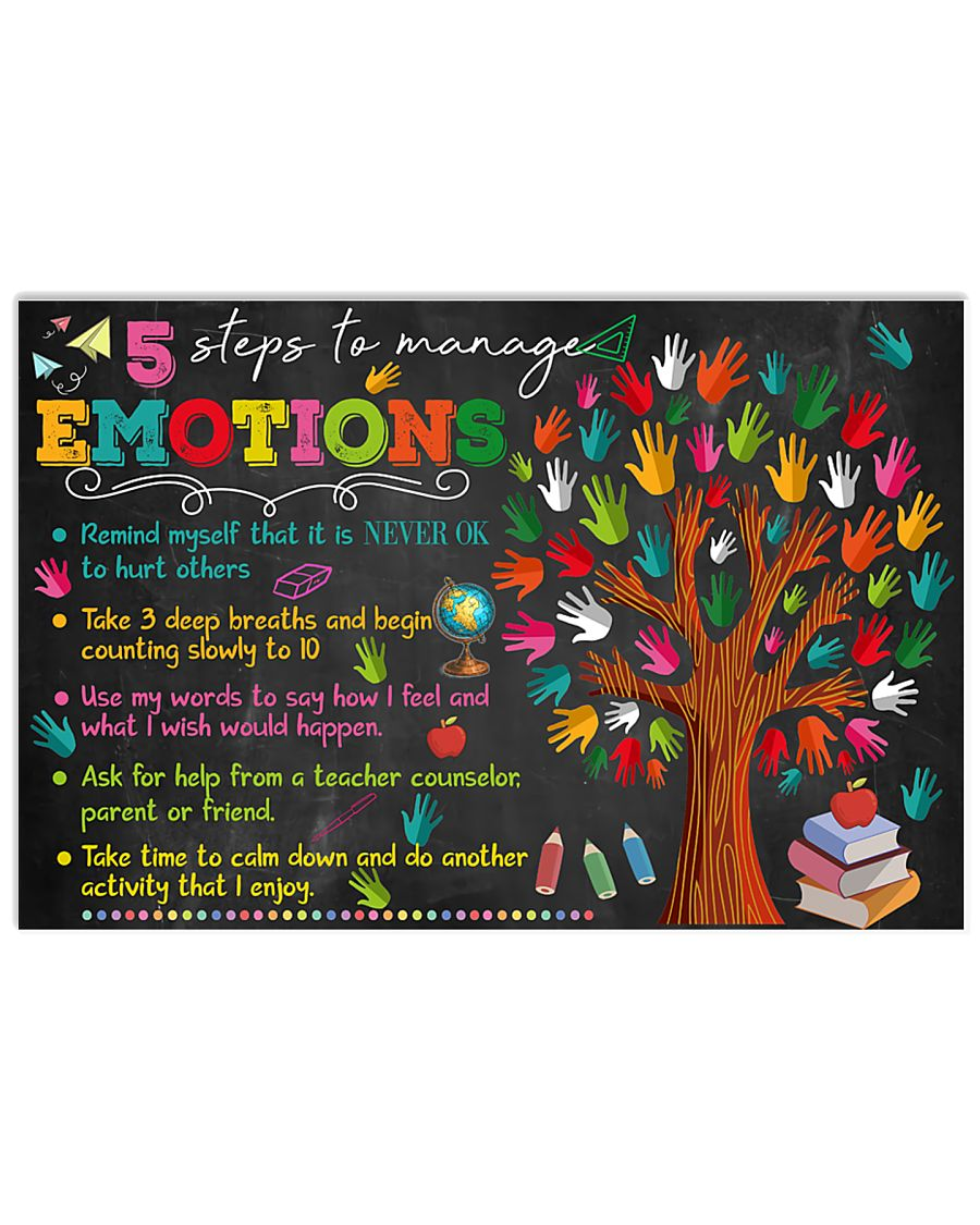 Step To Manage Emotions 17x11 Poster