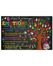 Step To Manage Emotions 17x11 Poster front