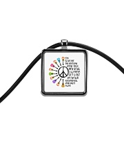 Give Me The Beat Boys Cord Rectangle Necklace thumbnail
