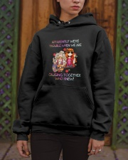 Cruising Together Who Knew Hooded Sweatshirt apparel-hooded-sweatshirt-lifestyle-front-03