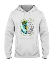 You Can Shake The World Hooded Sweatshirt front