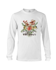 You Belong Among The Wildflowers Long Sleeve Tee tile
