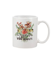 You Belong Among The Wildflowers Mug tile