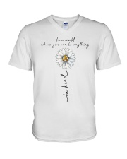 Be Kind In A World V-Neck T-Shirt thumbnail