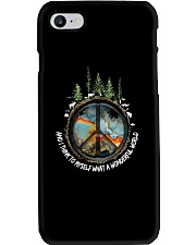Myself What A Wonderful World 1 Phone Case tile