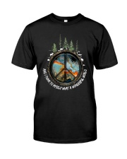 Myself What A Wonderful World 1 Premium Fit Mens Tee thumbnail