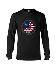 Belive In Something Hippie Long Sleeve Tee front