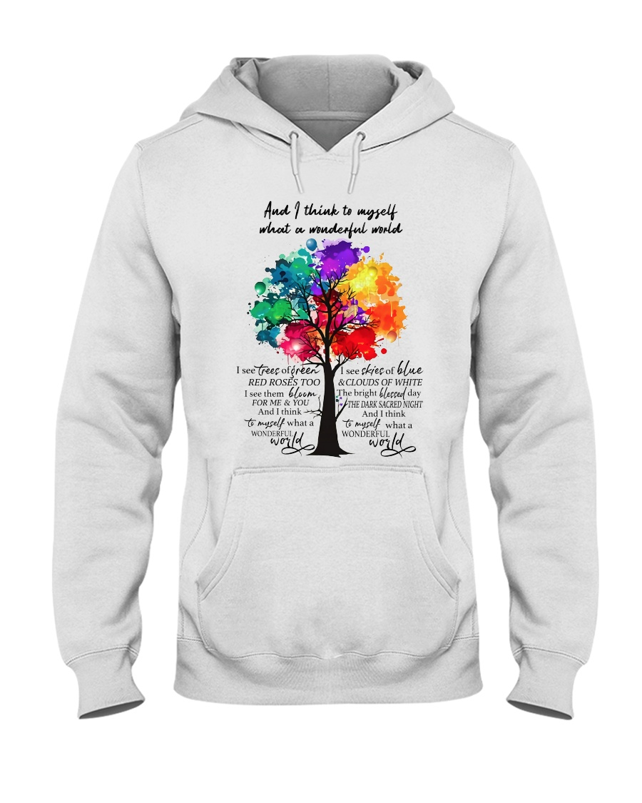 And I Think To Myself  Hooded Sweatshirt showcase