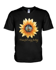 Peaceful Easy Feeling 1 V-Neck T-Shirt thumbnail