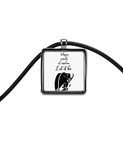 Whisper Words Of Wisdom Cord Rectangle Necklace thumbnail