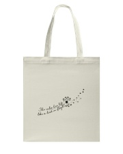 Her Life Like A Bird In Flight Tote Bag thumbnail
