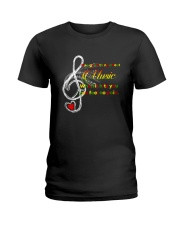 One Good Thing About Music Ladies T-Shirt thumbnail