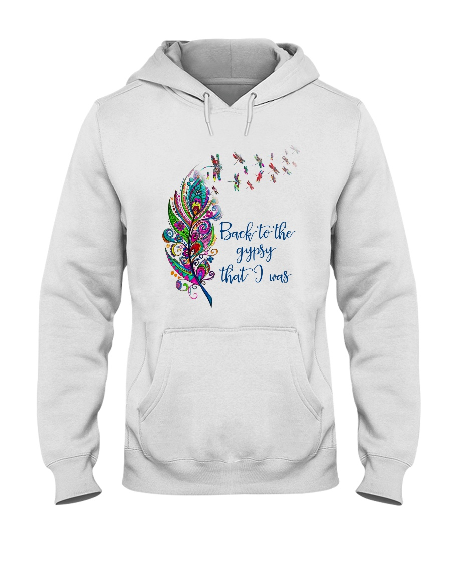 Back To The Gypsy That I Was Hooded Sweatshirt