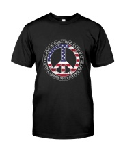 Belive In Something Hippie Classic T-Shirt front