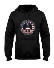 Belive In Something Hippie Hooded Sweatshirt thumbnail