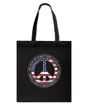Belive In Something Hippie Tote Bag thumbnail