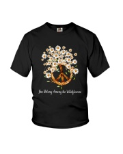 Among The Wildflowers Youth T-Shirt thumbnail
