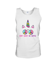 Dont Worry Be Hippie Unisex Tank thumbnail