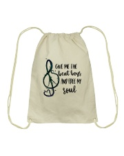 Give Me The Beat Boys Drawstring Bag tile