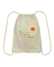 Here Comes The Sun Drawstring Bag thumbnail