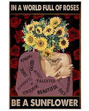 Be A Sunflower 11x17 Poster front