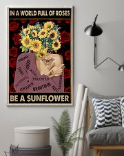Be A Sunflower 11x17 Poster lifestyle-poster-1