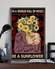 Be A Sunflower 11x17 Poster lifestyle-poster-2
