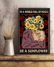 Be A Sunflower 11x17 Poster lifestyle-poster-3