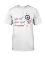 You Will Never Regret Classic T-Shirt front