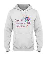 You Will Never Regret Hooded Sweatshirt thumbnail
