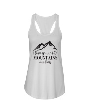 I Love You To The Mountains And Back Ladies Flowy Tank tile