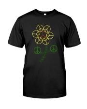 Hippie Flower Classic T-Shirt front