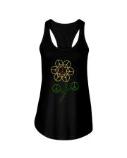 Hippie Flower Ladies Flowy Tank thumbnail