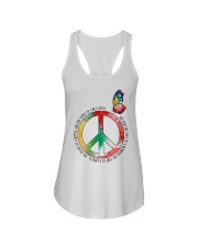 Spirit Of A Butterfly Ladies Flowy Tank thumbnail