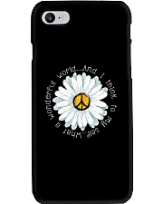I Think To My Seff What A Wonderful World Hippie Phone Case thumbnail