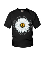 I Think To My Seff What A Wonderful World Hippie Youth T-Shirt thumbnail
