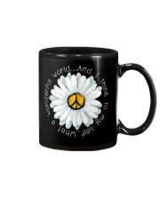 I Think To My Seff What A Wonderful World Hippie Mug thumbnail