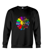 Rock And Roll Crewneck Sweatshirt thumbnail