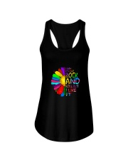Rock And Roll Ladies Flowy Tank thumbnail
