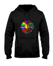 Rock And Roll Hooded Sweatshirt front