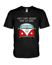 Dont Come Around Here No More V-Neck T-Shirt thumbnail