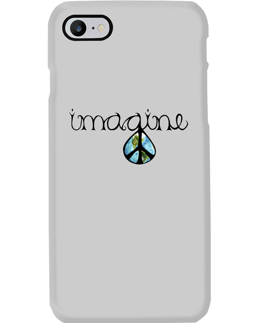 Imagine Peace Hippie Phone Case showcase