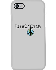 Imagine Peace Hippie Phone Case thumbnail